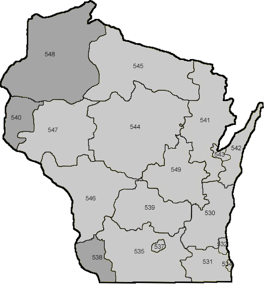 wisconsin zip codes by address